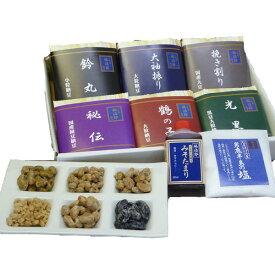 高級納豆 詰合せ 二代目福治郎 送料込【菊】納豆6種とみそたまり・納豆専用塩入り