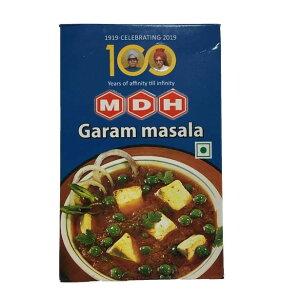 MDH ガラムマサラ パウダー 100g カレースパイス (ネコポス対応/箱を少し折って出荷) インド産 賞味期限2023.1