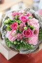 季節のお花を使ったおまかせブーケ【送料無料】【花束 ギフト】【クリスマス】【スタイリッシュ】【ギフト 誕生日 …