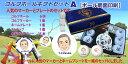 【送料無料】 似顔絵ゴルフギフトセットA OEMボール 【2ヶ所印刷】 オリジナル 父の日 母の日 プレゼント おもしろ メッセージカード付