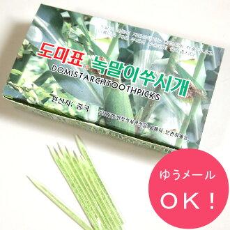 韩国牙签 (绿色)