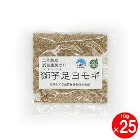 韓国サジャバル農家直送 獅子足ヨモギ 10g×25袋 よもぎ蒸し専用 乾燥 漢方座浴剤
