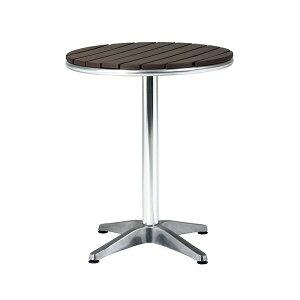 テーブル・アルミ+樹脂 382-0110 施設用 屋外用