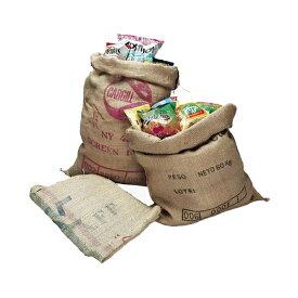 コーヒー麻袋 #11407 10枚セット 本物のコーヒーの麻袋です。 好評につき再販!