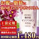 【定期1点コース】【DM便送料無料】お腹の脂肪に 葛の花イソフラボンスリム(120粒入)ダイエット 脂肪 内臓脂肪 減少…
