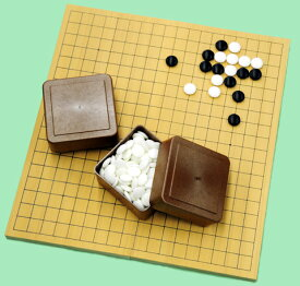 囲碁 碁盤と碁石のお得なセット アガチス折りたたみ碁盤セット