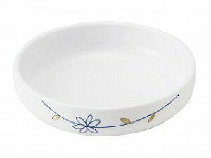 【メープル】おかるのキモチ 小鉢50 ラインフラワー(青)軽い すくいやすい 皿 食事 食器 介護 高齢者 お年寄り