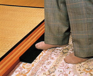 【レイクス21】Lスロープ ブラック(2cm)2本組 段差 取付簡単 工事不要 住宅改修 リフォーム 車いす 歩行器 室内 つまづき 福祉用具 介護用品 お年寄り 高齢者