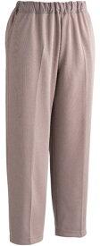 【ケアファッション】おしりスルッとカチオンライトパンツ(婦人)ベージュ LL介護服 ズボン 履きやすい ゴム すべり止め お年寄り 高齢者