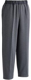 【ケアファッション】おしりスルッとカチオンライトパンツ(婦人)グレー S介護服 ズボン 履きやすい ゴム すべり止め お年寄り 高齢者