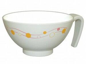 【台和】取っ手付飯碗 みず玉茶碗 持ち手 持ちやすい ご飯 食事 食器 介護 高齢者 お年寄り