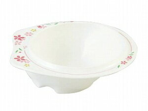 【東海興商】メラミン食器 美華シリーズ 小鉢(小)持ちやすい 滑りにくい すくいやすい 皿 食事 高齢者 お年寄り