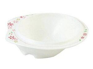 【東海興商】メラミン食器 美華シリーズ 小鉢(中)持ちやすい 滑りにくい すくいやすい 皿 食事 高齢者 お年寄り