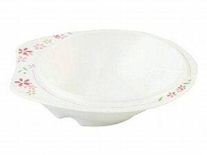 【東海興商】メラミン食器 美華シリーズ 小鉢(大)持ちやすい 滑りにくい すくいやすい 皿 食事 高齢者 お年寄り