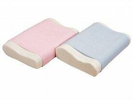 【ルナール】洗える体圧分散バランス枕 ブルー吸水 洗濯 低反発 お年寄り 高齢者