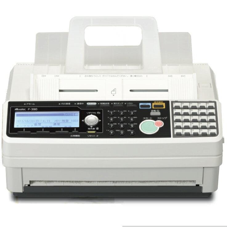 あす楽対応 ムラテック F390 F-390 MURATEC FAX ファックス 感熱紙対応 |ファックス電話機 ファックス電話 コンパクト 事務用品 省スペース 感熱記録紙 大型ディスプレイ 付き 電話機 コピー機 プリンター 複合機 プリンター複合 ビジネス オフィス 会社 事務機器 oa機器|