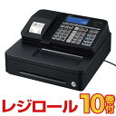 レジスター カシオ SR-S200 ブラック レジロール10巻付 Bluetooth対応 casio| レジ 本体 キャッシャー キャッシュレジ…