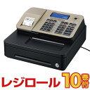 予約受付(納期未定)レジスター カシオ SR-S200 ゴールド レジロール10巻付 Bluetooth対応 casio|レジ 業務用 本体 キ…