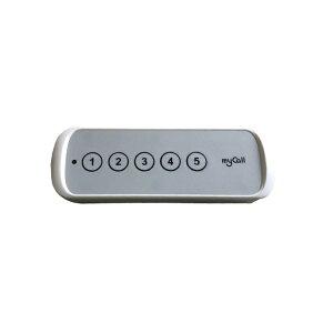 電池レスコール 消去機 D-002 | 業務用 チャイム ワイヤレスチャイム オフィス用品 呼び出しベル ワイヤレス 呼び出し コールベル 呼び出しボタン 受信機 呼び鈴 コールチャイム 感染症対策
