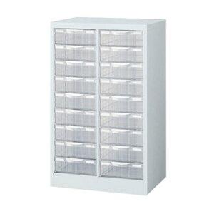 生興 整理ケース A4W-P209L A4判2列深型9段 (64127) ホワイト | プラスチック 事務用品 書類 引き出し 書類整理棚 レターケース 書類棚 オフィス収納 レターラック オフィス家具 書類ケース 書類収