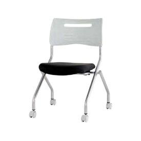 井上金庫 MSC平行スタッキングチェア ブラック MSC-420BK | イス デスクチェア 会議 家具 イノウエ オフィス用品 オフィスチェアー デスクチェアー ワークチェア パソコンチェア 事務椅子 チェア チェアー 椅子 いす おしゃれ ビジネス ビジネスチェア ワークチェアー|