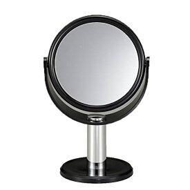 ★100円クーポン配布中★ 10倍拡大鏡付きスタンドミラー 拡大ミラー 10倍ミラー メイクやスキンケアに大活躍 拡大鏡 拡大ミラー 化粧鏡 10倍鏡