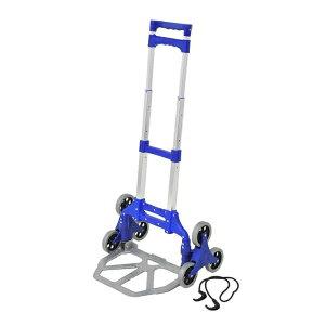 《500円クーポン配布中》 アルミ三輪キャリーカート MO22889 3輪キャリーカート 三輪カート 3輪タイヤなので少ない力で荷物運搬ができます 階段も上れるキャリーカート 3輪キャリー 送料無料