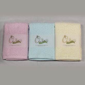 "The ベビーマム (softly fine string) face towel which ""it is air, or breaks"" 驚吸水 towel"