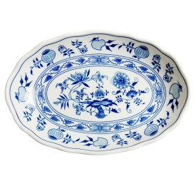 カールスバード ブルーオニオン (Carlsbad Blue Onion) カレー皿 23cm 10374 (オーバルプレート)
