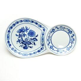 カールスバード ブルーオニオン (Carlsbad Blue Onion) ブレックファーストプレート 30cm×17cm