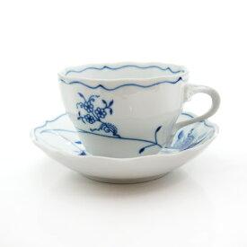 カールスバード ブルーオニオン (Carlsbad Blue Onion) ECO コーヒーカップ&ソーサー 210cc【楽天OPEN15周年セール】