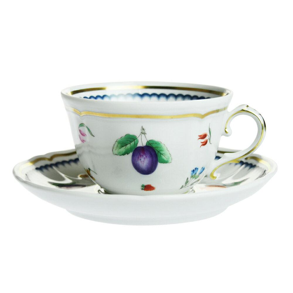 【Summer*Sale】【送料無料祭】リチャード・ジノリ (Richard Ginori) イタリアンフルーツ ティーカップ&ソーサー