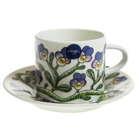 【送料無料祭】アラビア (ARABIA) ケトオルヴォッキ コーヒーカップ&ソーサー