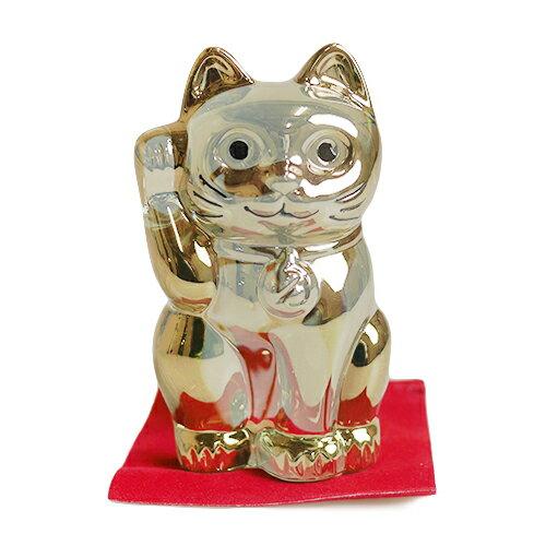 【数量限定価格】バカラ (Baccarat) 招き猫 ゴールド 2-612-997【あす楽対応】
