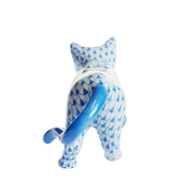ヘレンド(HEREND)人形VHB子猫をくわえた猫05551