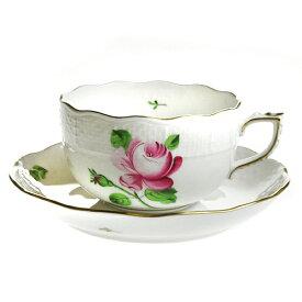【送料無料祭】ヘレンド (HEREND) RB 薔薇と蕾 ティーカップ&ソーサー 724【あす楽対応】【Spring☆Sale】