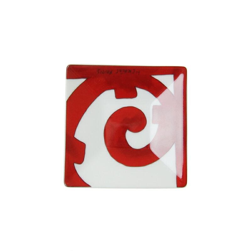 エルメス (HERMES) ガダルキヴィール スクエアプレート 7×7cm #1 011041P
