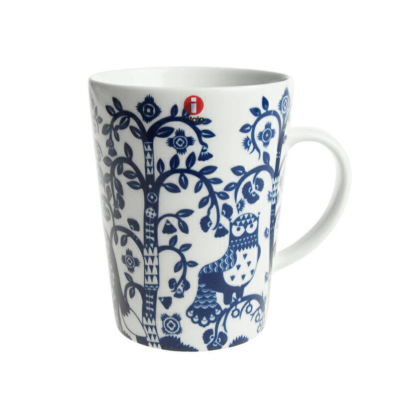 イッタラ (iittala) タイカ Taika マグカップ 400ml ミッドナイトブルー