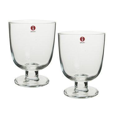 イッタラ(iittala)レンピLEMPIグラス0.35Lクリア2客セット