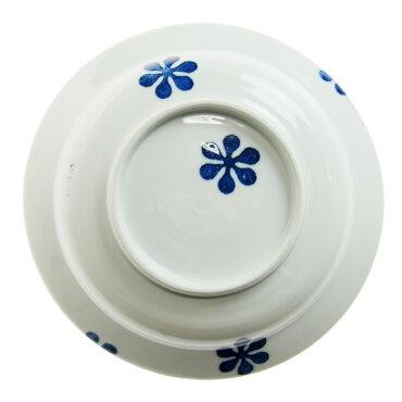 九谷青窯徳永遊心色絵お皿つばき