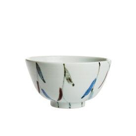 九谷青窯 山崎智世 色絵柳 飯碗 NTY-005