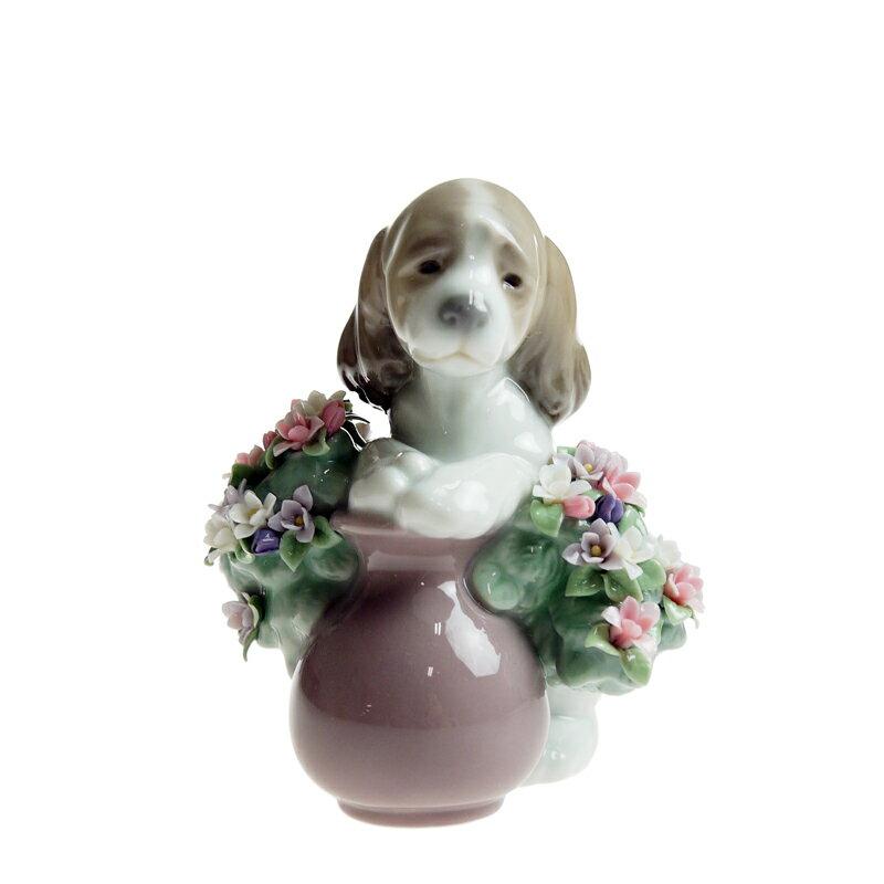 【在庫お問い合わせください】リヤドロ (LLADRO) お花が大好き 6574