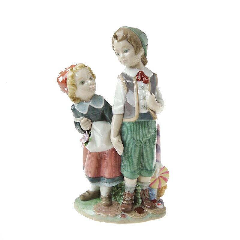 リヤドロ (LLADRO) 人形 ヘンゼルとグレーテル 8658