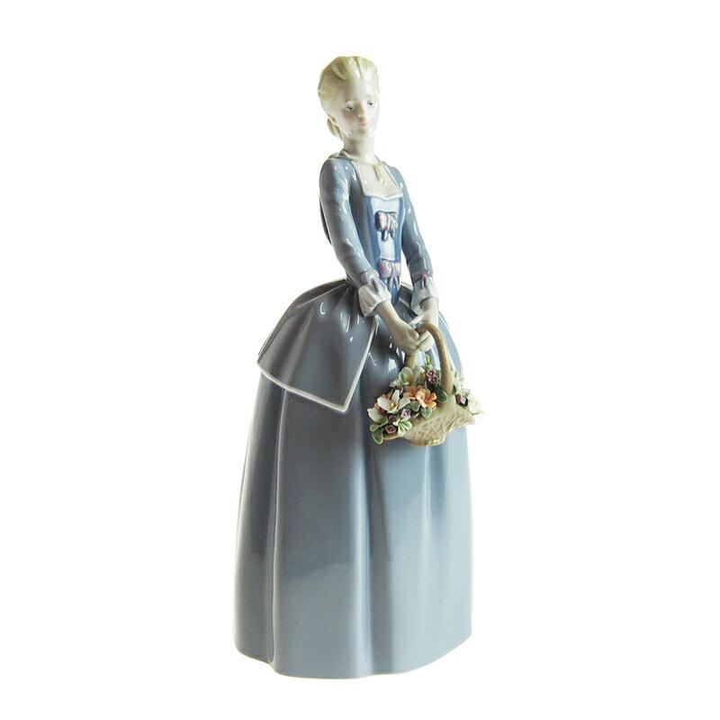 【在庫お問い合わせください】リヤドロ (LLADRO) 人形 庭いっぱいの花 01009180