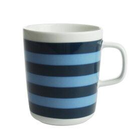 マリメッコ (marimekko) タサライタ TASARAITA マグカップ ダークブルー/ライトブルー
