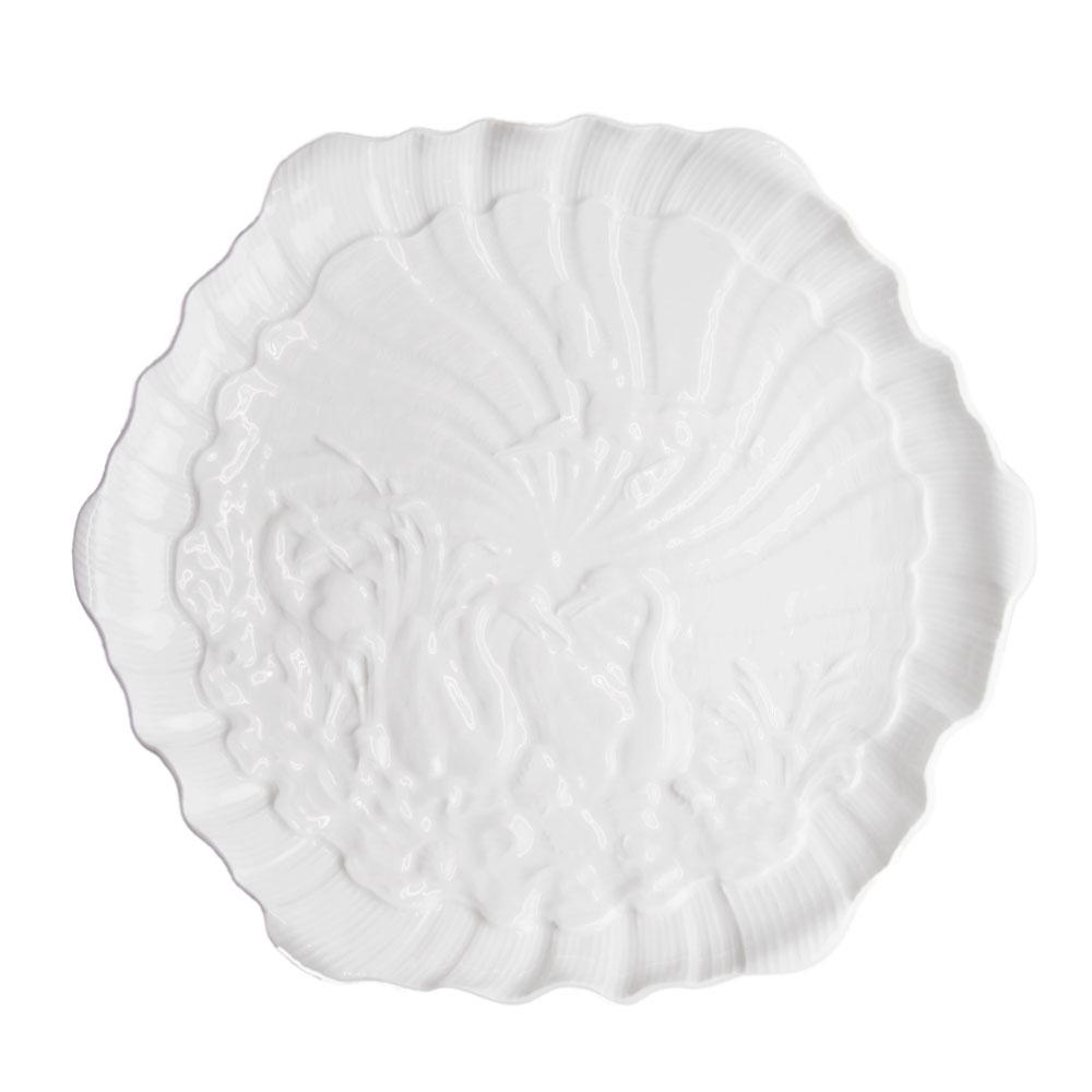 マイセン (Meissen) スワンホワイト プレート 29cm 05506