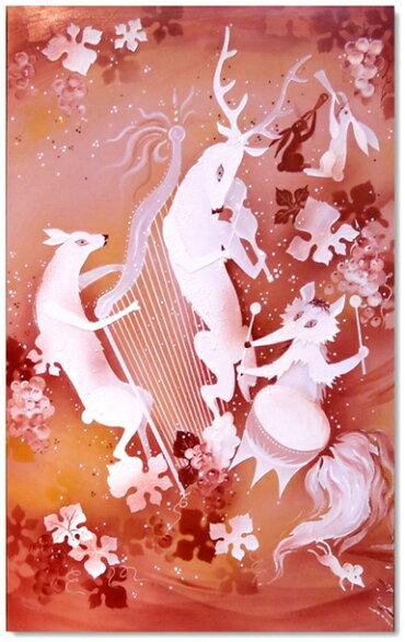 マイセン(Meissen)陶画NO.495動物達の音楽会【※購入時確認必要※】