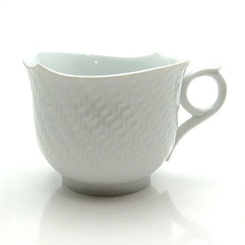 マイセン (Meissen) 波の戯れホワイト マグカップ 29576