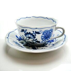 カールスバード ブルーオニオン (Carlsbad Blue Onion) ティーカップ&ソーサー 200ml