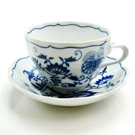 カールスバード ブルーオニオン (Carlsbad Blue Onion) コーヒーカップ&ソーサー 220ml【Autumn*SALE】